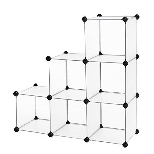Songmics Storage Cube Organizer Diy Plastic Closet Shelf